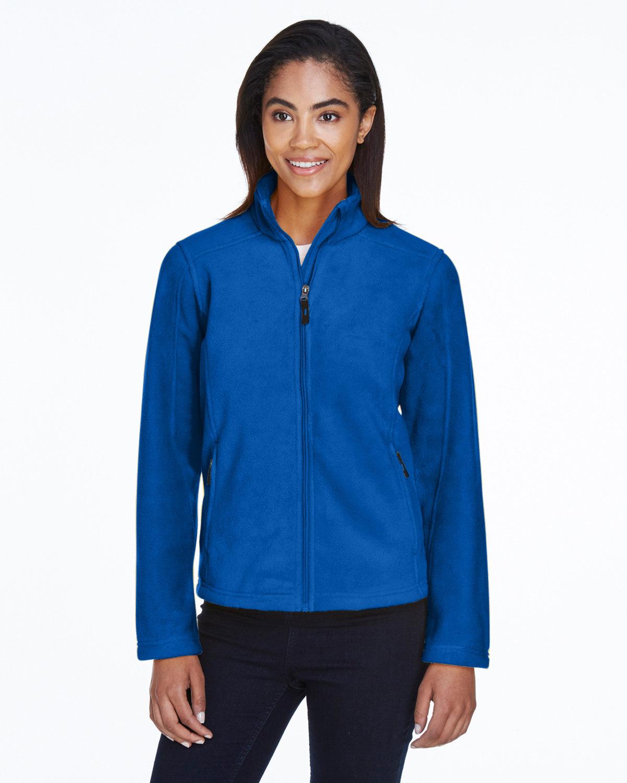 Core 365 Ladies' Journey Fleece Jacket TRUE ROYAL