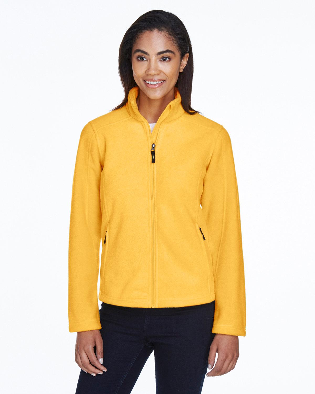 Core 365 Ladies' Journey Fleece Jacket CAMPUS GOLD