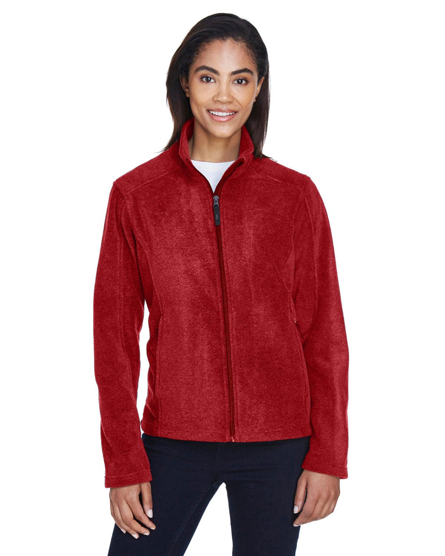 Core 365 Ladies' Journey Fleece Jacket CLASSIC RED