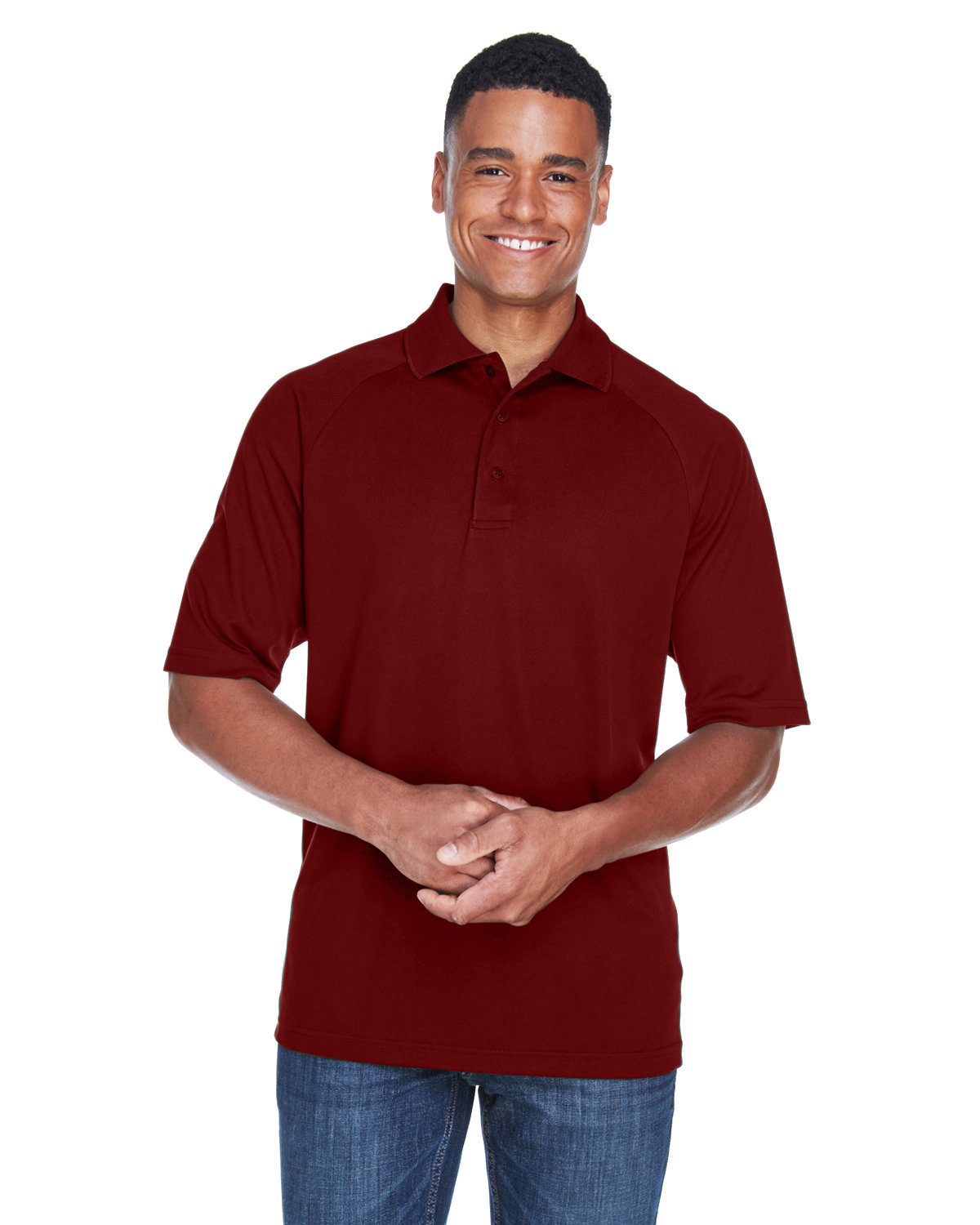 Extreme Men's Eperformance™ Piqué Polo CLASSIC RED