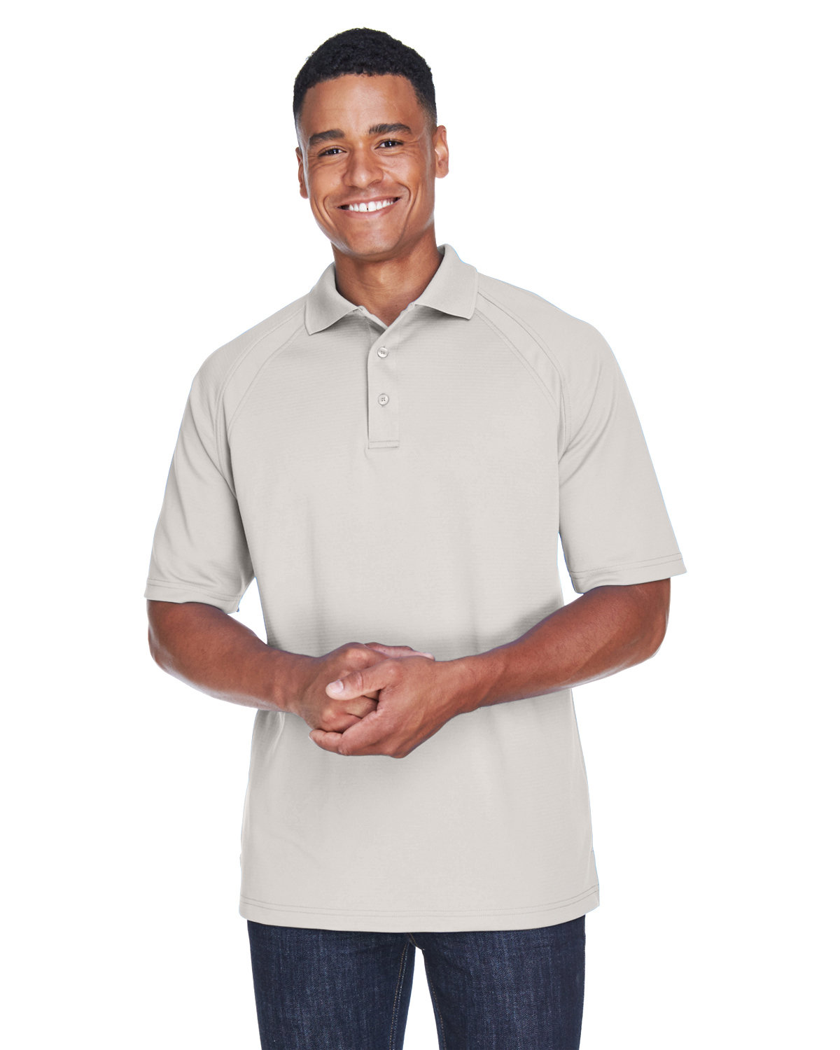 Extreme Men's Eperformance™ Ottoman Textured Polo FROST