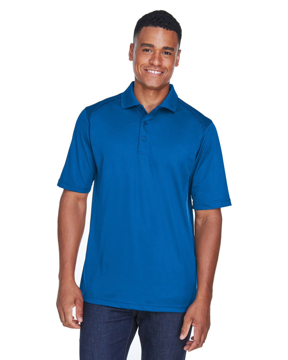 Extreme Men's Eperformance™ Shield Snag Protection Short-Sleeve Polo TRUE ROYAL