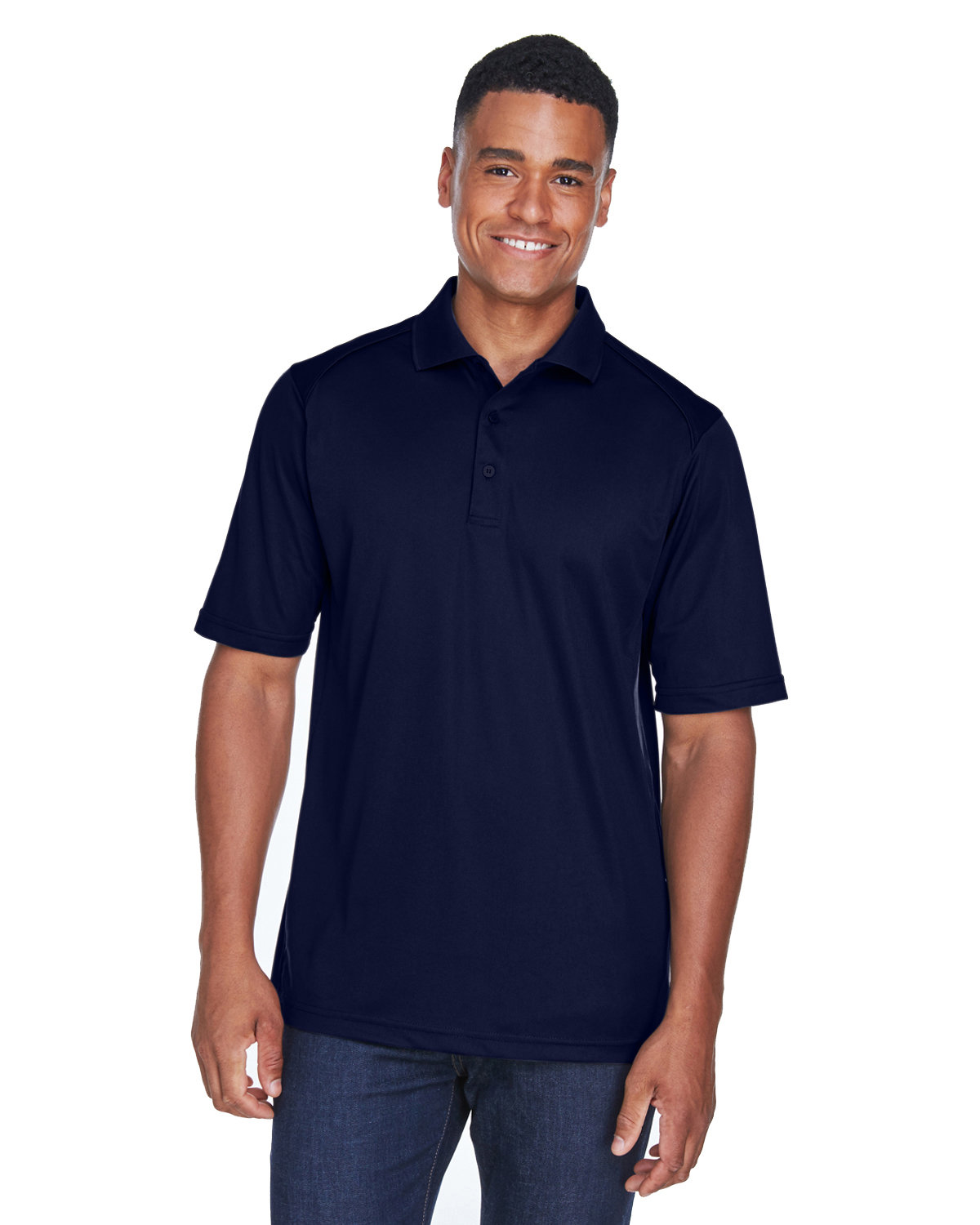 Extreme Men's Eperformance™ Shield Snag Protection Short-Sleeve Polo CLASSIC NAVY