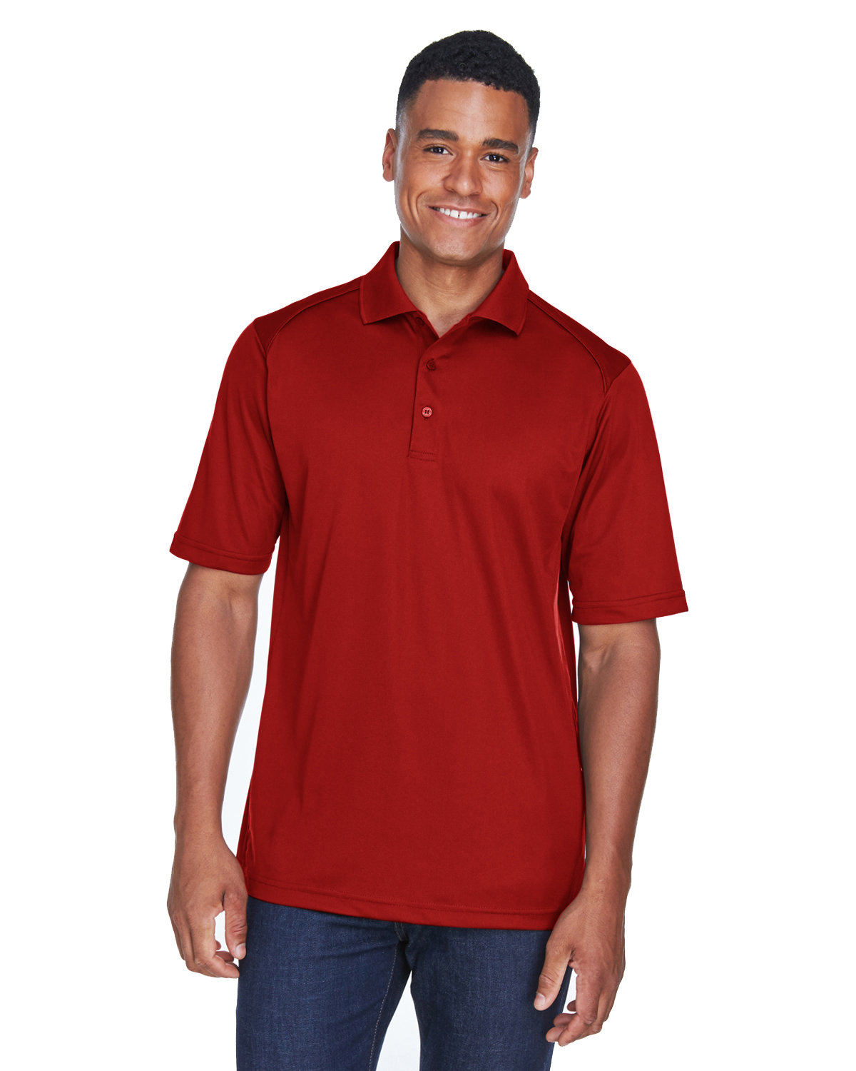 Extreme Men's Eperformance™ Shield Snag Protection Short-Sleeve Polo CLASSIC RED