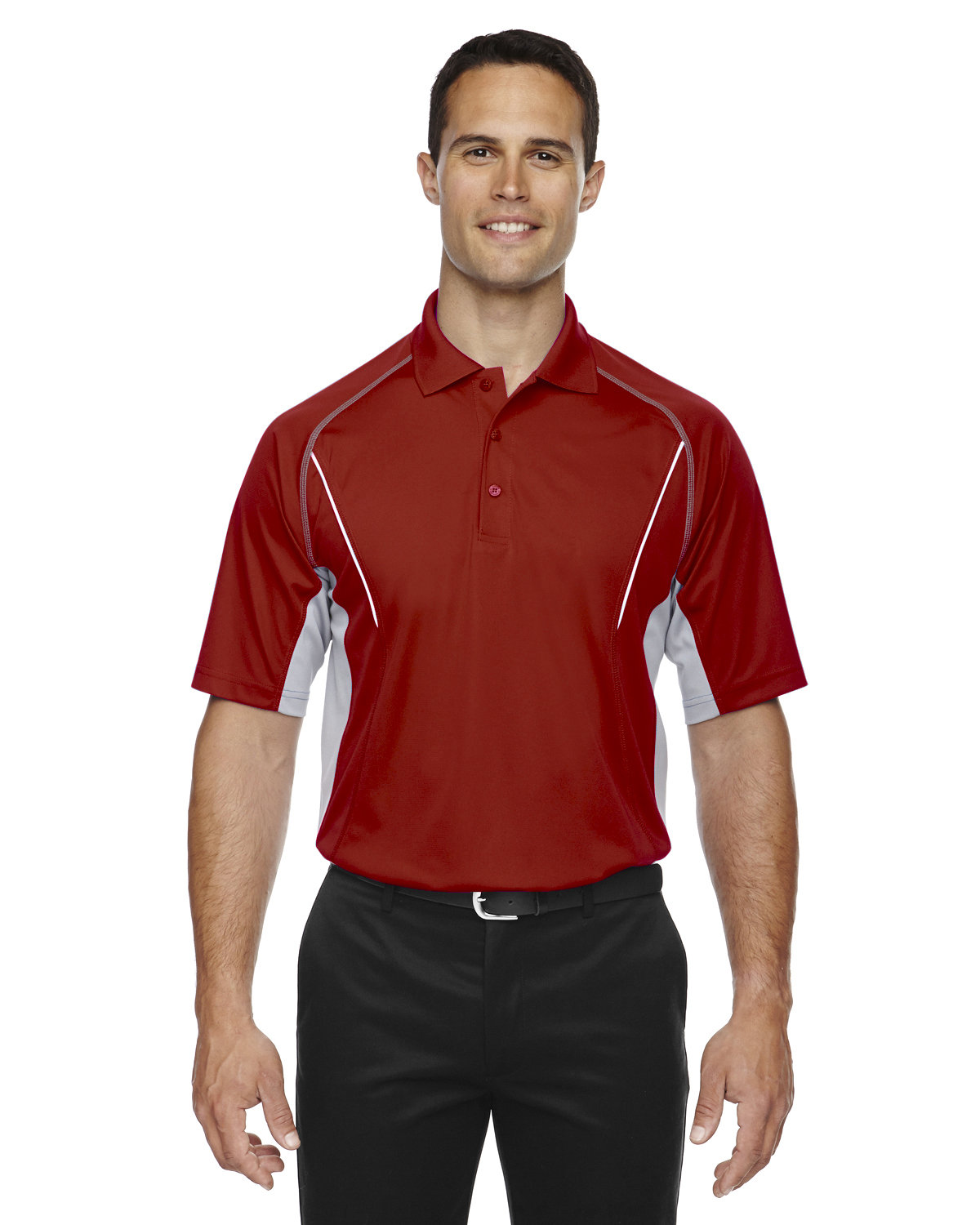 Extreme Men's Eperformance™ Parallel Snag Protection Polo with Piping CLASSIC RED