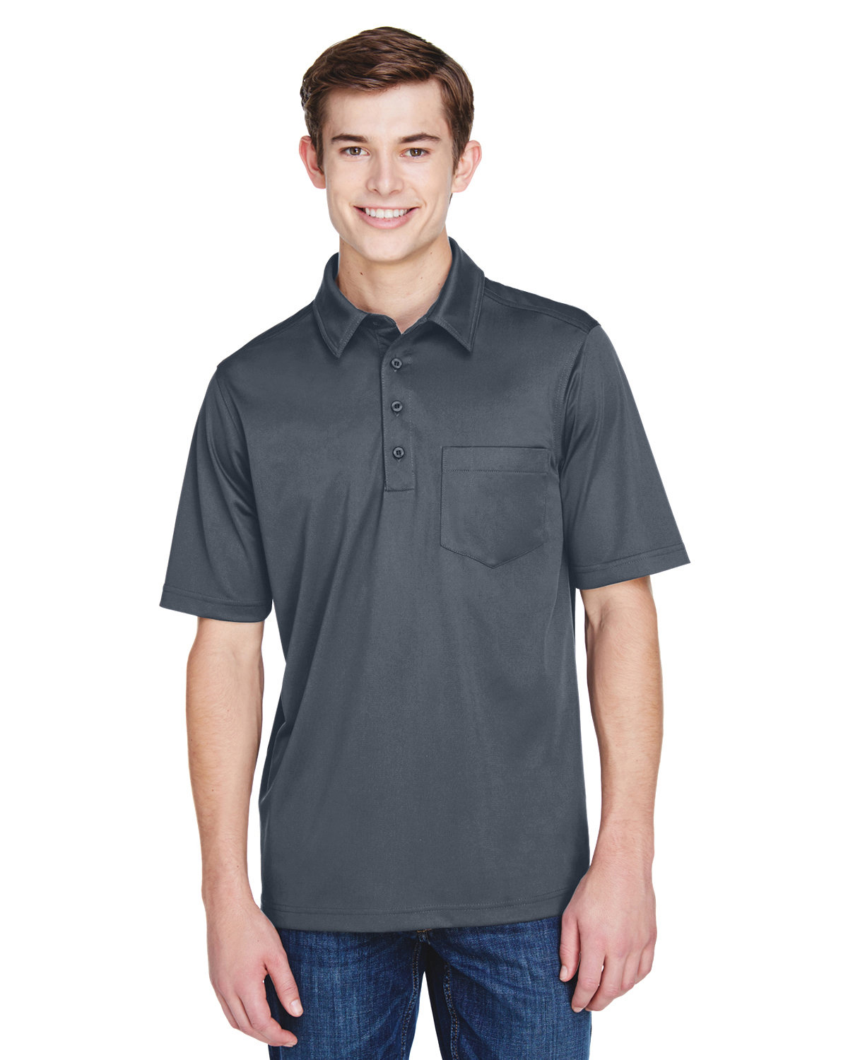 Extreme Men's Tall Eperformance™ Shift Snag Protection Plus Polo CARBON