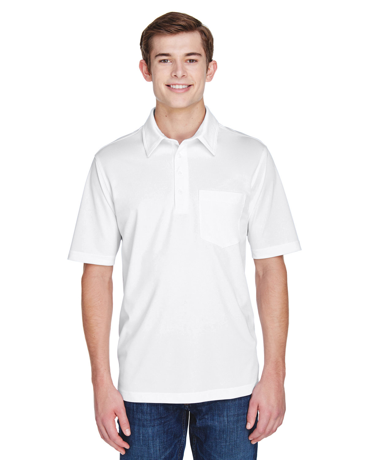 Extreme Men's Tall Eperformance™ Shift Snag Protection Plus Polo WHITE