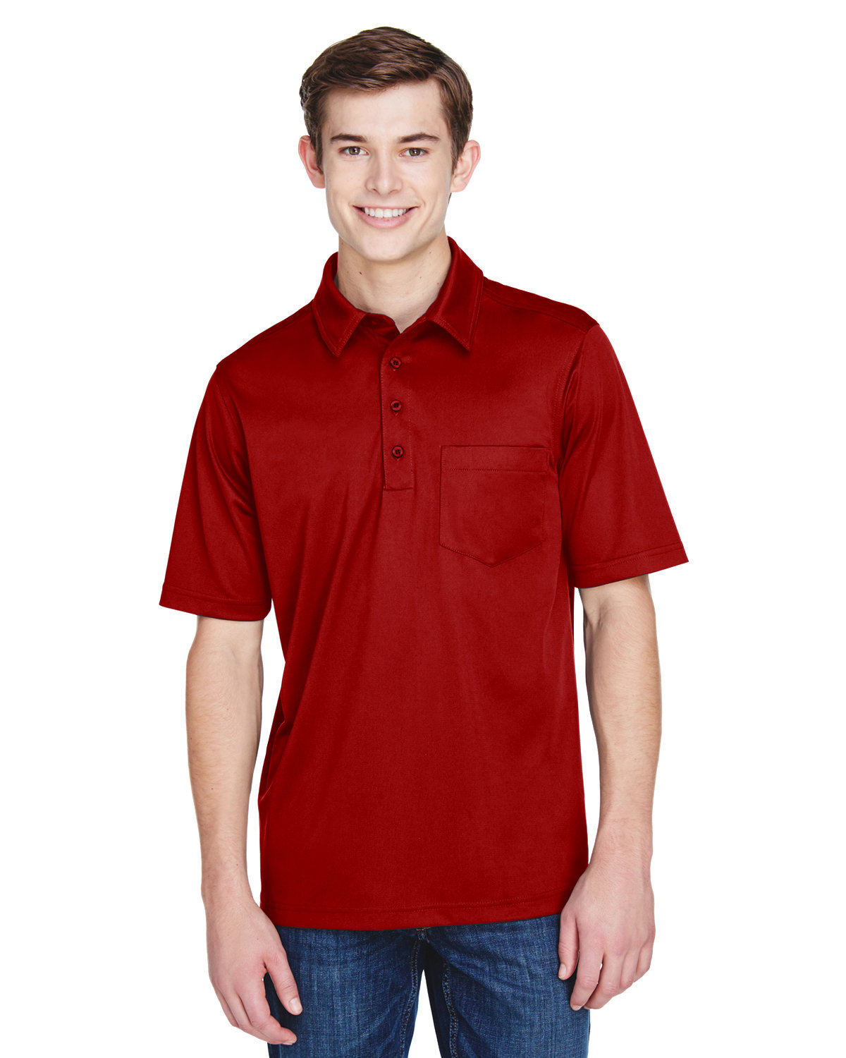 Extreme Men's Tall Eperformance™ Shift Snag Protection Plus Polo CLASSIC RED