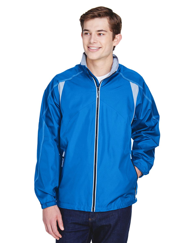 North End Men's EnduranceLightweight Colorblock Jacket NAUTICAL BLUE