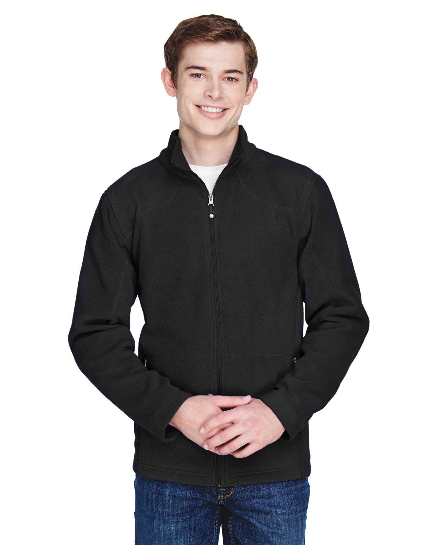 North End Men's Voyage Fleece Jacket BLACK
