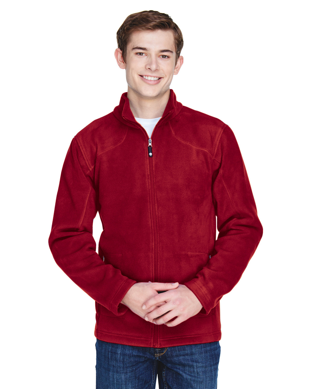 North End Men's Voyage Fleece Jacket CLASSIC RED