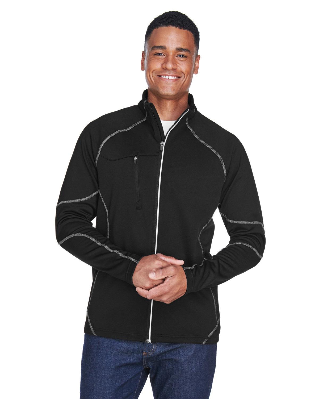North End Men's Gravity Performance Fleece Jacket BLACK