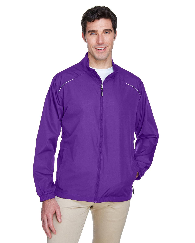 Core 365 Men's Motivate Unlined Lightweight Jacket CAMPUS PURPLE