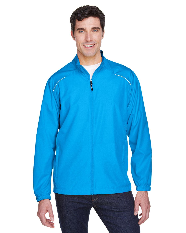 Core 365 Men's Motivate Unlined Lightweight Jacket ELECTRIC BLUE