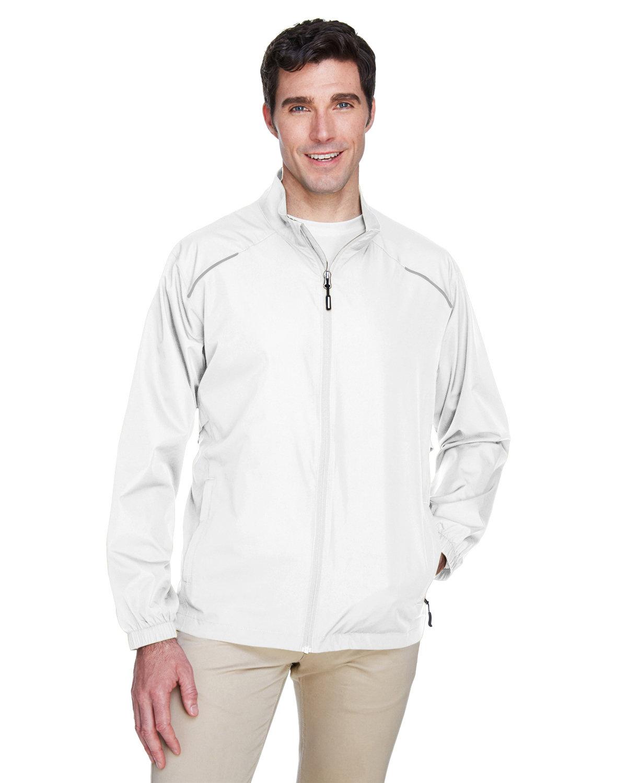 Core 365 Men's Motivate Unlined Lightweight Jacket WHITE
