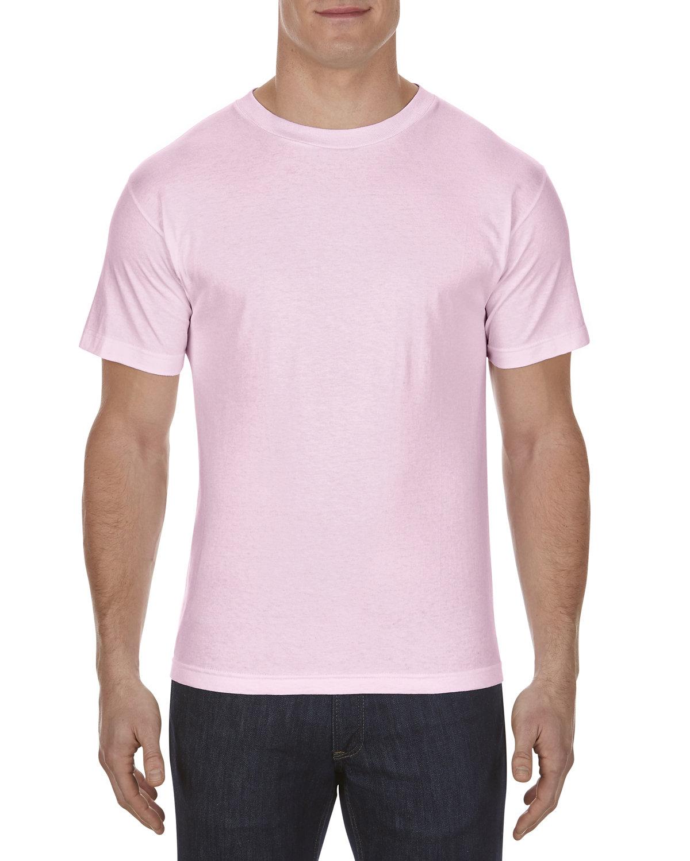 Alstyle Adult 6.0 oz., 100% Cotton T-Shirt PINK