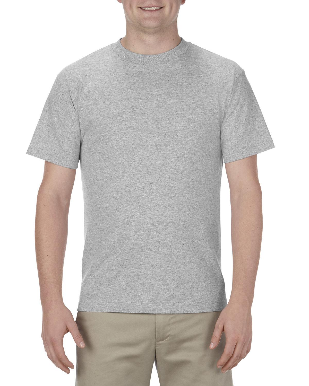Alstyle Adult 6.0 oz., 100% Cotton T-Shirt ATHLETIC HEATHER