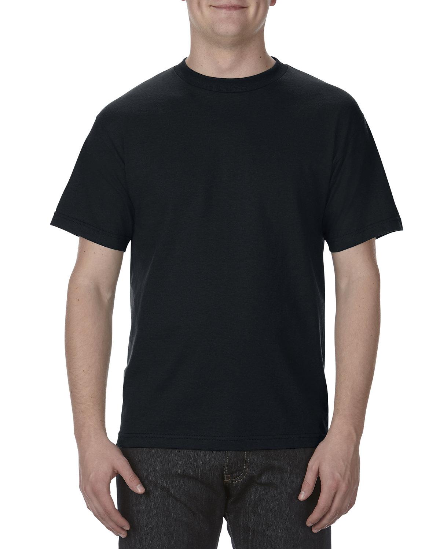 Alstyle Adult 6.0 oz., 100% Cotton T-Shirt BLACK
