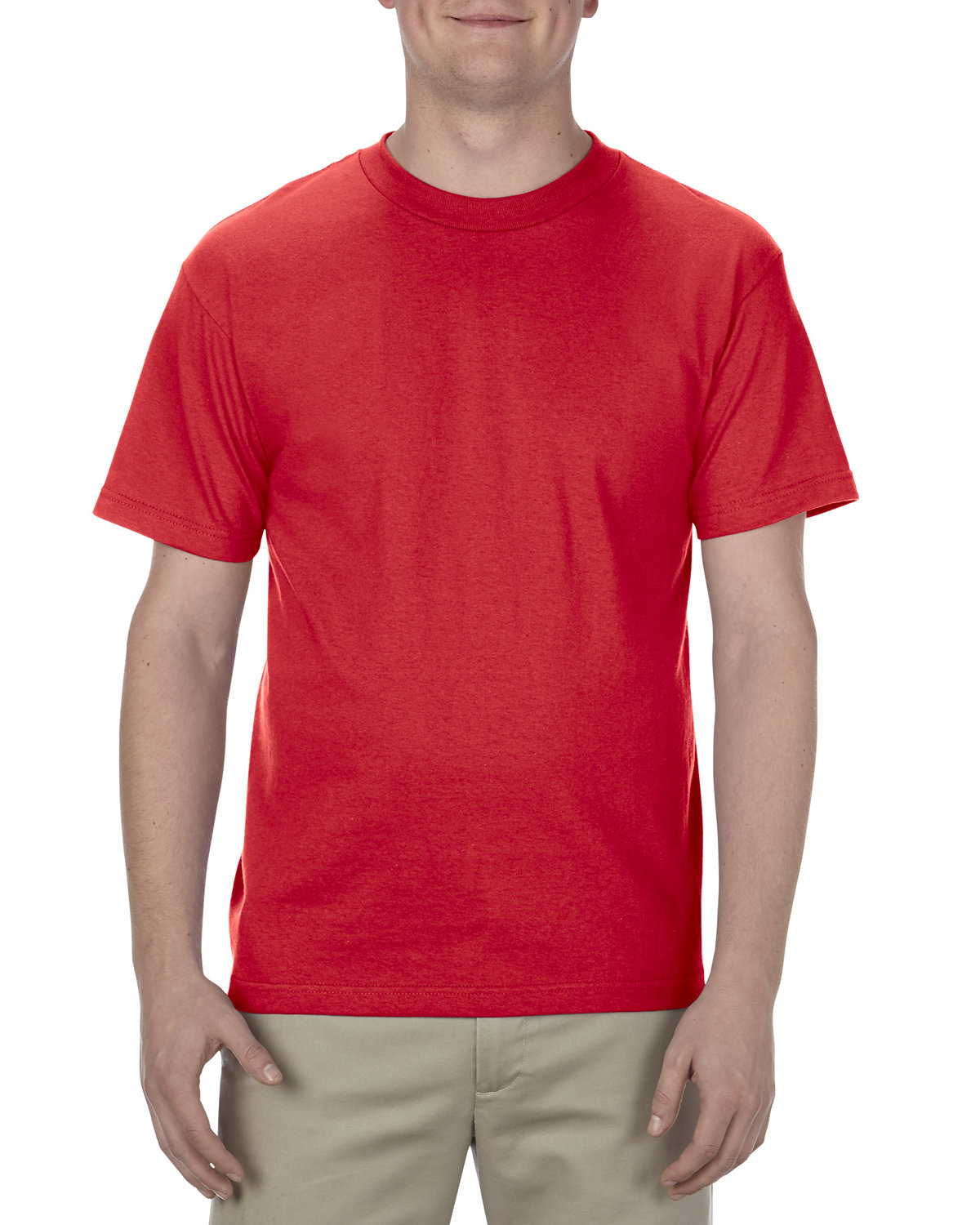 Alstyle Adult 6.0 oz., 100% Cotton T-Shirt RED