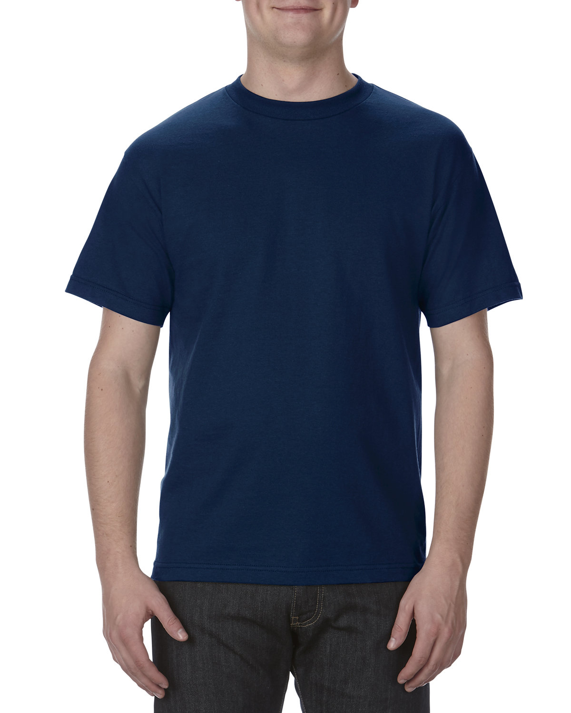 Alstyle Adult 6.0 oz., 100% Cotton T-Shirt NAVY