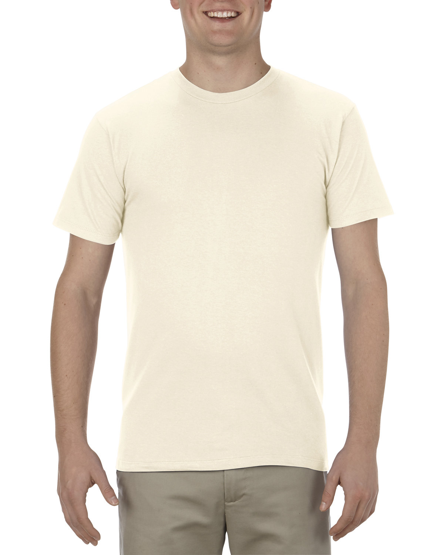 Alstyle Adult 4.3 oz., Ringspun Cotton T-Shirt CREAM
