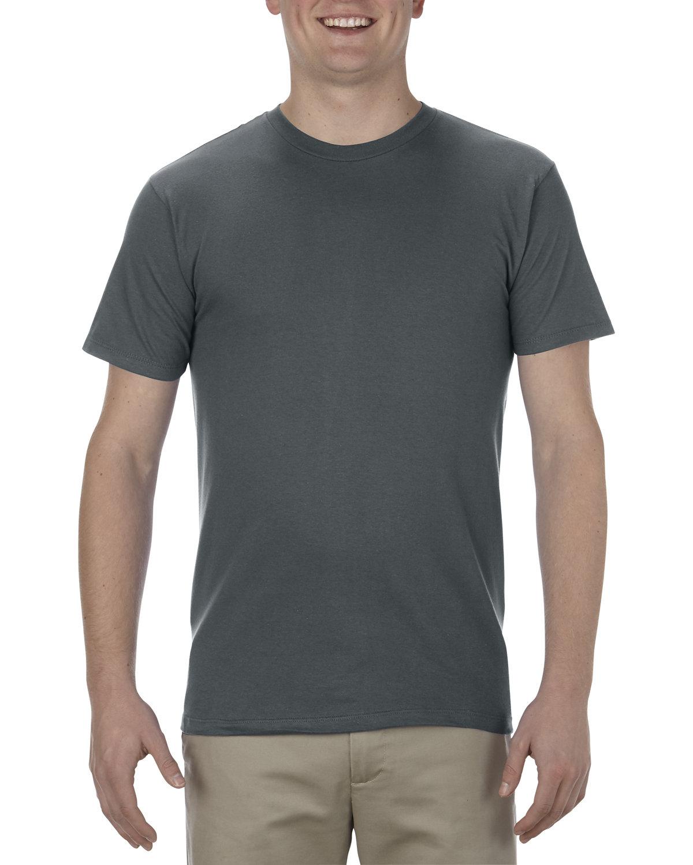 Alstyle Adult 4.3 oz., Ringspun Cotton T-Shirt CHARCOAL