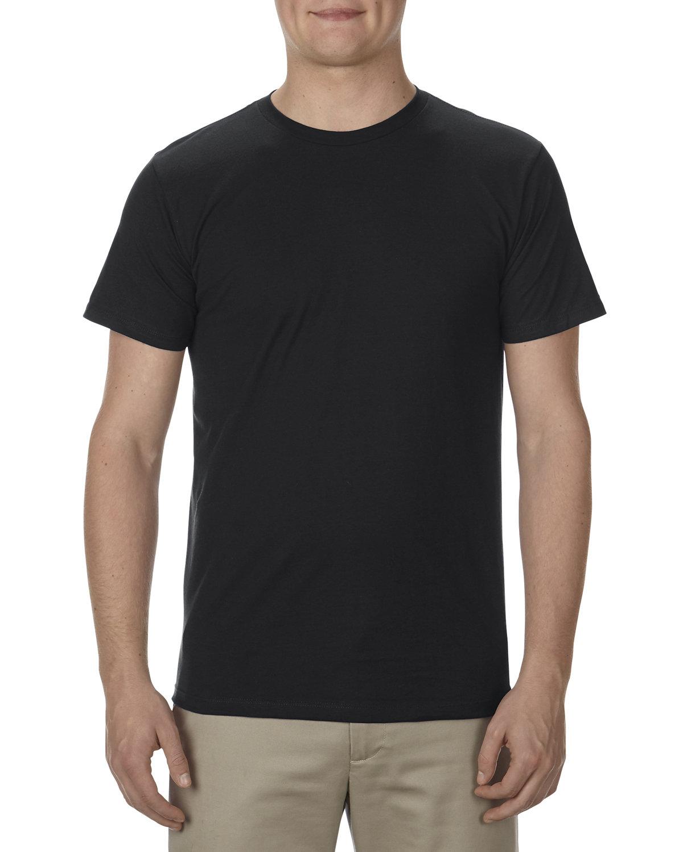 Alstyle Adult 4.3 oz., Ringspun Cotton T-Shirt BLACK