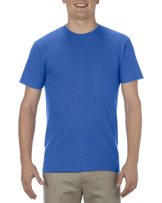 Alstyle Adult 4.3 oz., Ringspun Cotton T-Shirt ROYAL