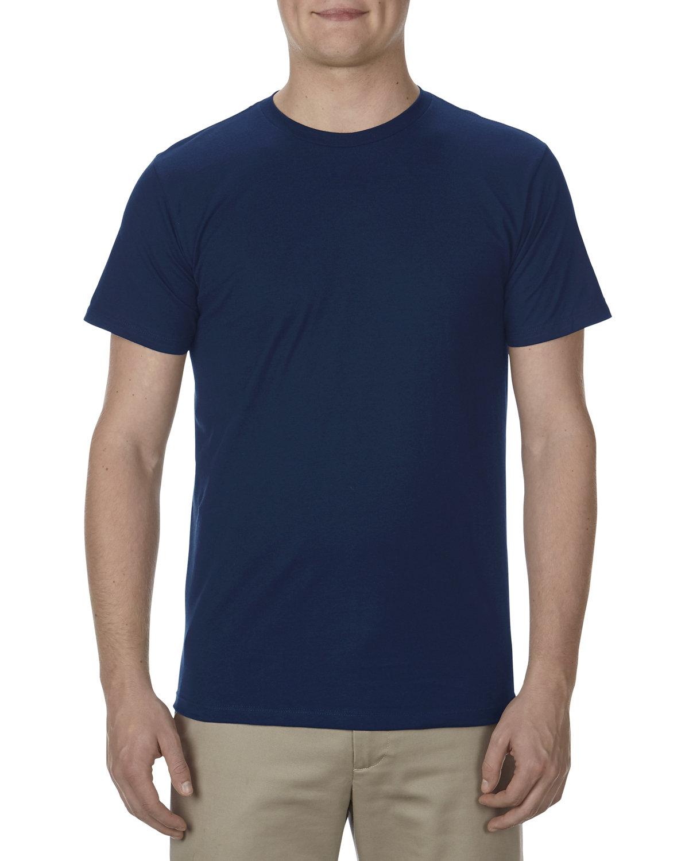 Alstyle Adult 4.3 oz., Ringspun Cotton T-Shirt NAVY