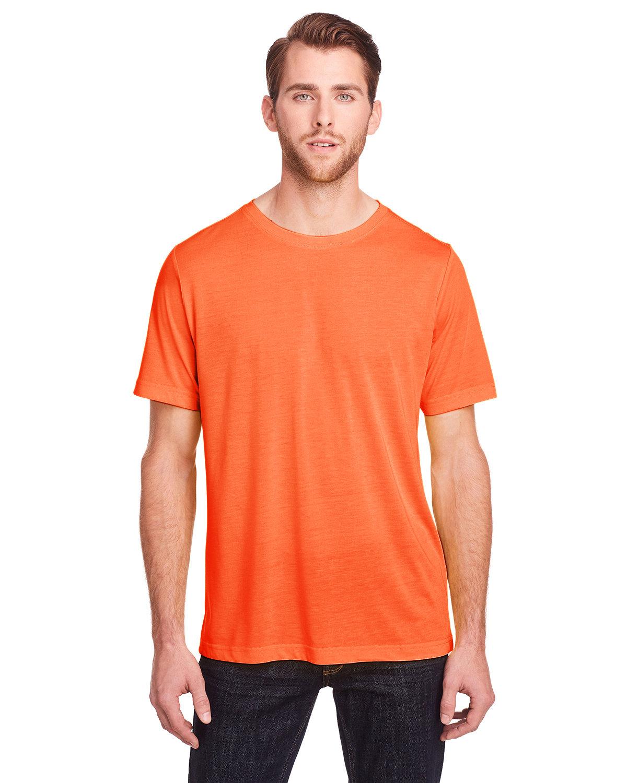 Core 365 Adult Fusion ChromaSoft Performance T-Shirt CAMPUS ORANGE