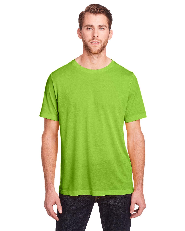 Core 365 Adult Fusion ChromaSoft Performance T-Shirt ACID GREEN