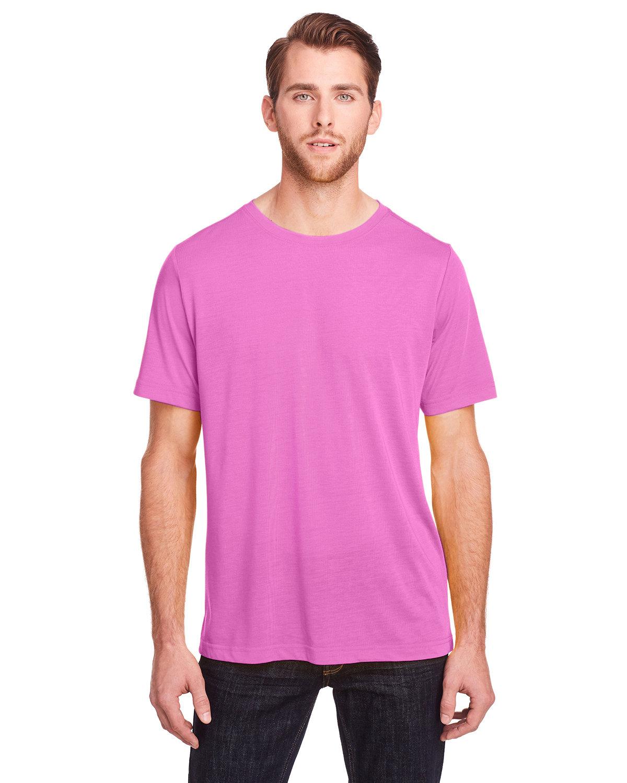 Core 365 Adult Fusion ChromaSoft Performance T-Shirt CHARITY PINK