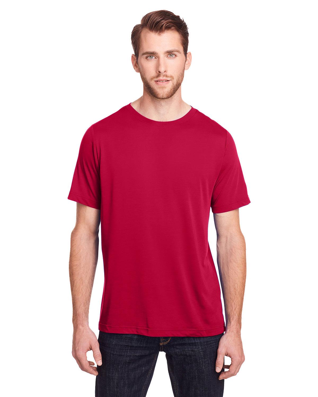 Core 365 Adult Fusion ChromaSoft Performance T-Shirt CLASSIC RED