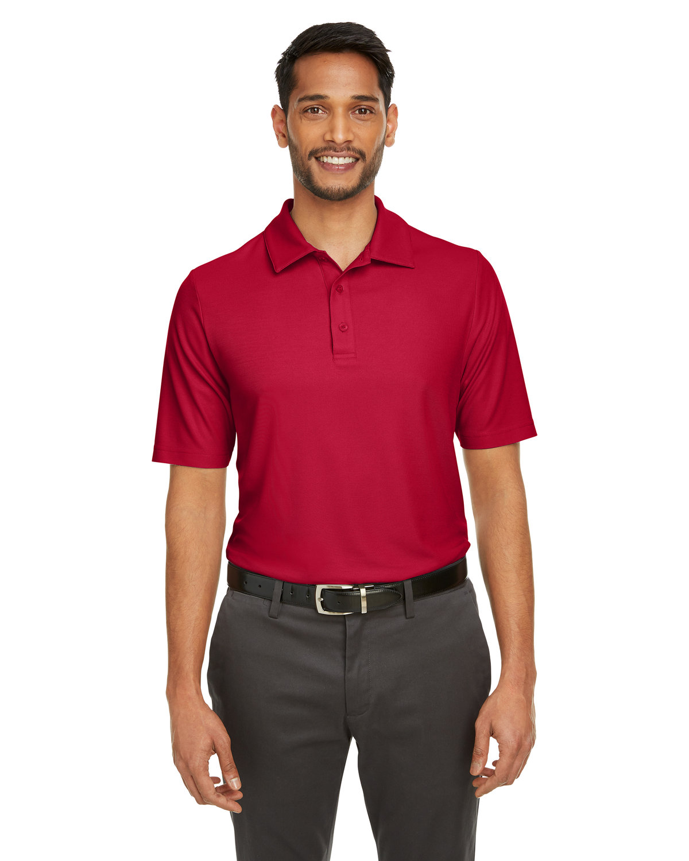 Core 365 Men's Fusion ChromaSoft™ Pique Polo CLASSIC RED