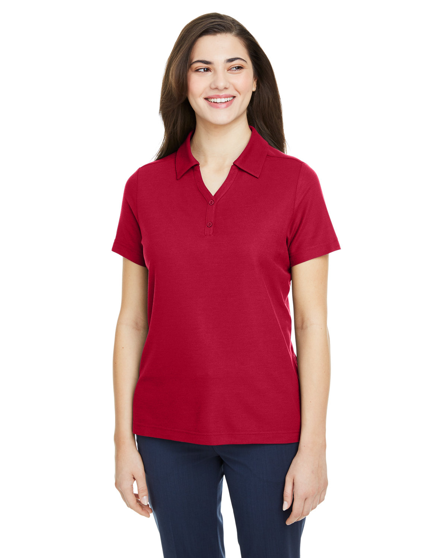 Core 365 Ladies' Fusion ChromaSoft™ Pique Polo CLASSIC RED