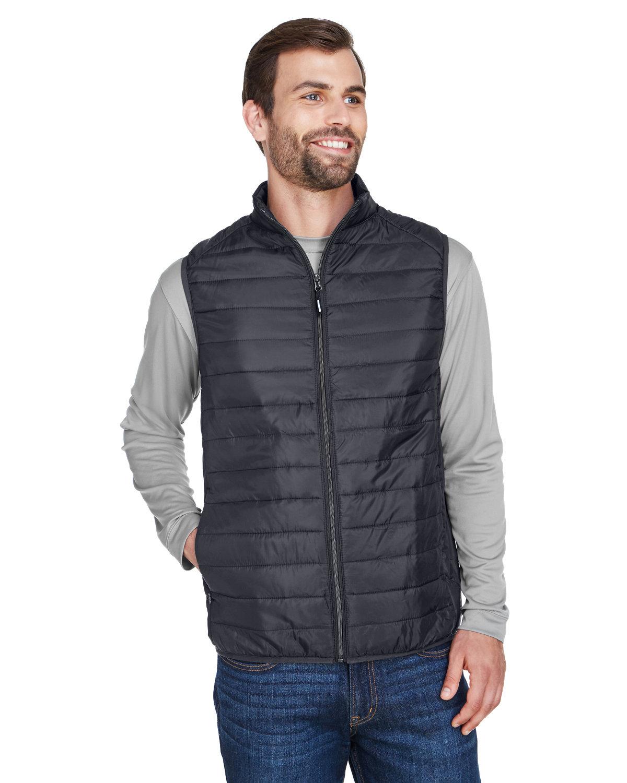 Core 365 Men's Prevail Packable Puffer Vest CARBON