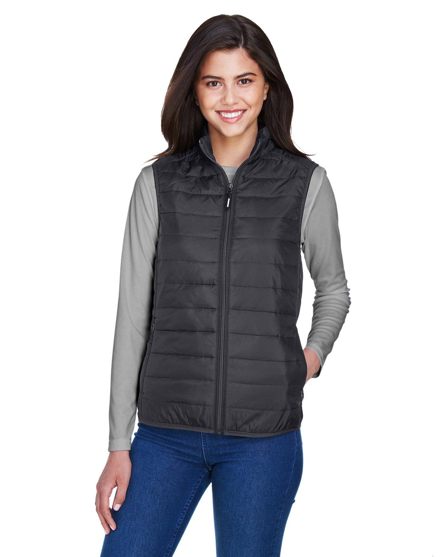 Core 365 Ladies' Prevail Packable Puffer Vest CARBON