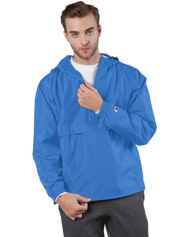 Champion Adult Packable Anorak 1/4 Zip Jacket ATHLETIC ROYAL