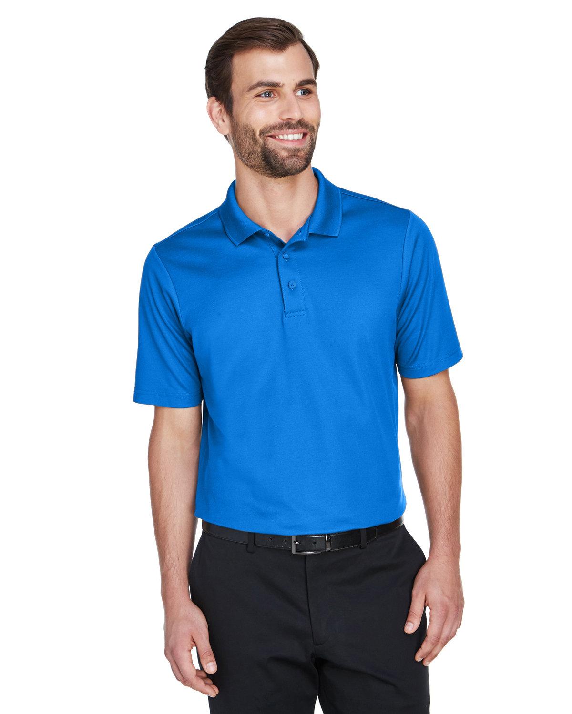 Devon & Jones CrownLux Performance™ Men's Plaited Polo FRENCH BLUE