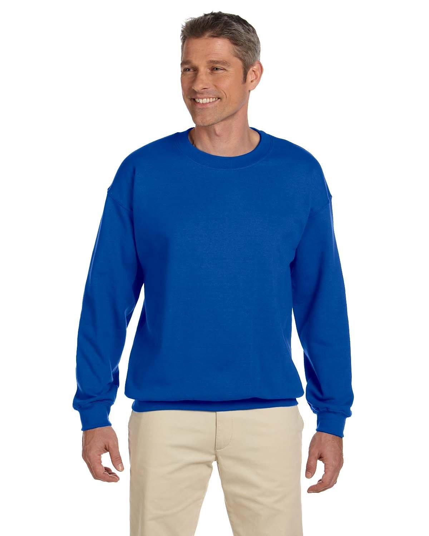 Gildan Adult Heavy Blend™ 50/50 Fleece Crew ROYAL