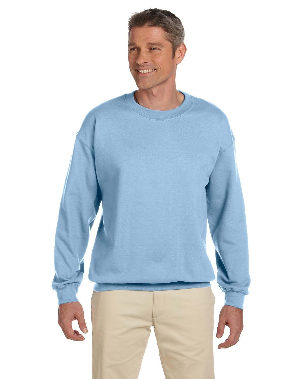 Gildan Adult Heavy Blend™ 50/50 Fleece Crew LIGHT BLUE