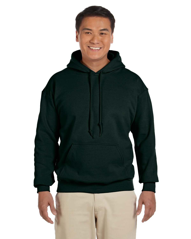 Gildan Adult Heavy Blend™ 50/50 Hooded Sweatshirt FOREST GREEN