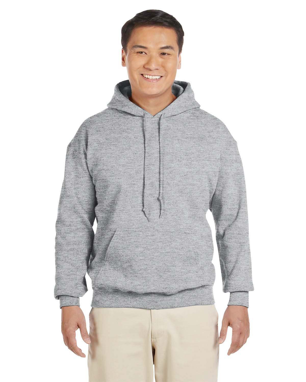 Gildan Adult Heavy Blend™ 50/50 Hooded Sweatshirt SPORT GREY