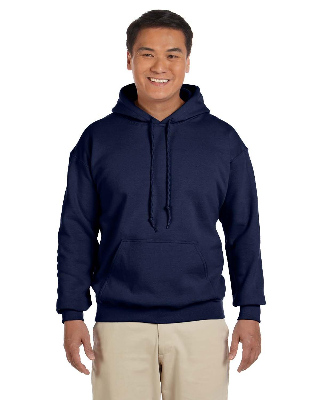 Gildan Adult Heavy Blend™ 50/50 Hooded Sweatshirt NAVY