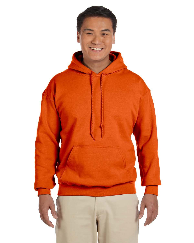 Gildan Adult Heavy Blend™ 50/50 Hooded Sweatshirt ORANGE