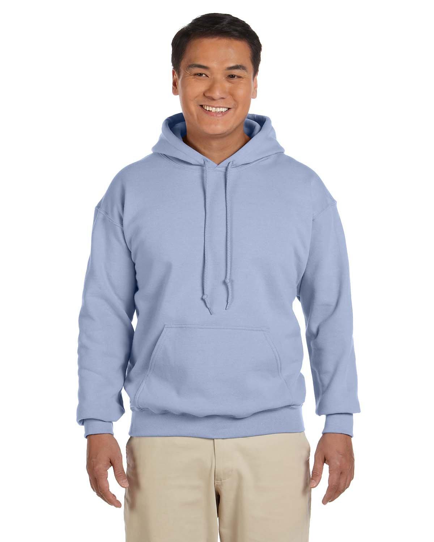 Gildan Adult Heavy Blend™ 50/50 Hooded Sweatshirt LIGHT BLUE