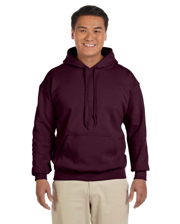Gildan Adult Heavy Blend™ 50/50 Hooded Sweatshirt MAROON