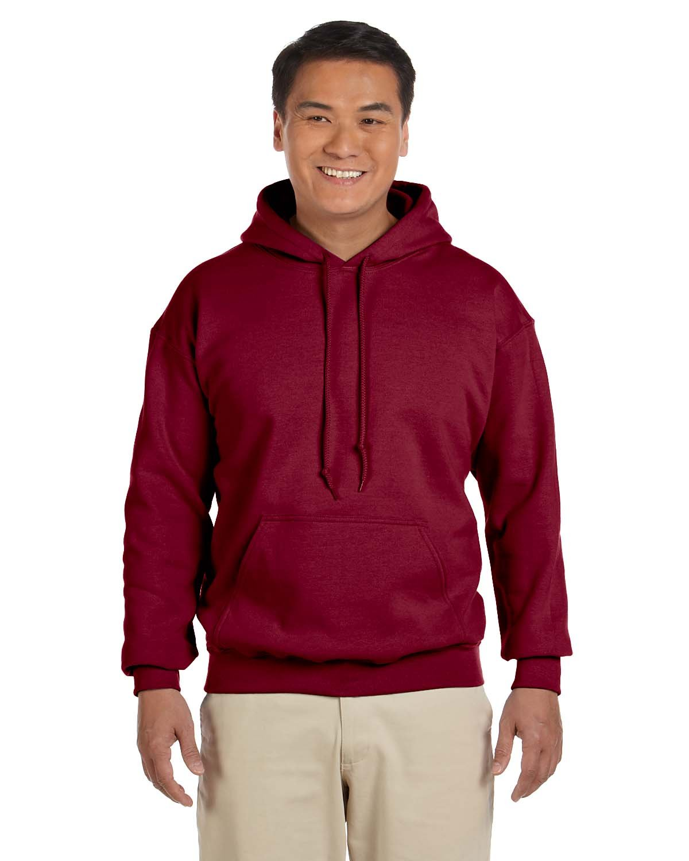 Gildan Adult Heavy Blend™ 50/50 Hooded Sweatshirt ANTIQ CHERRY RED