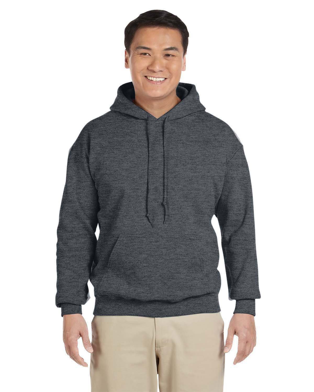 Gildan Adult Heavy Blend™ 50/50 Hooded Sweatshirt DARK HEATHER