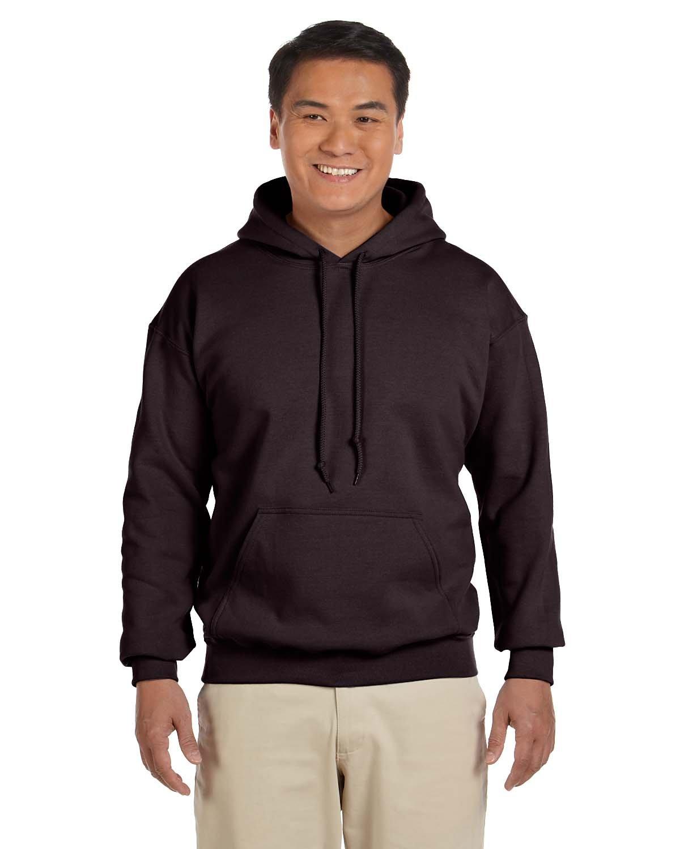 Gildan Adult Heavy Blend™ 50/50 Hooded Sweatshirt DARK CHOCOLATE
